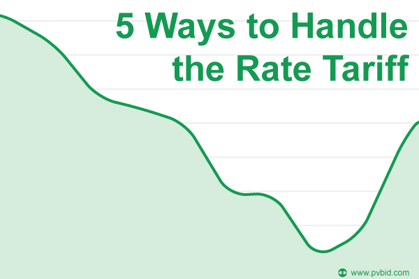 5 Ways to Handle the Rate Tariff - PVBid